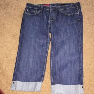 Ag denim capris